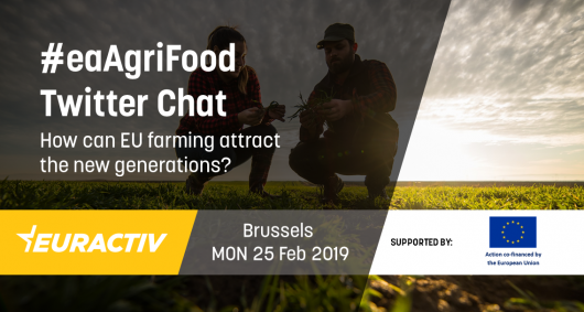 #eaAgriFood Twitter chat: How can EU farming attract the new generations?