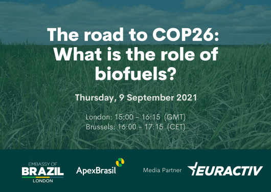 Media Partnership - The road to COP26: what is the role of biofuels?