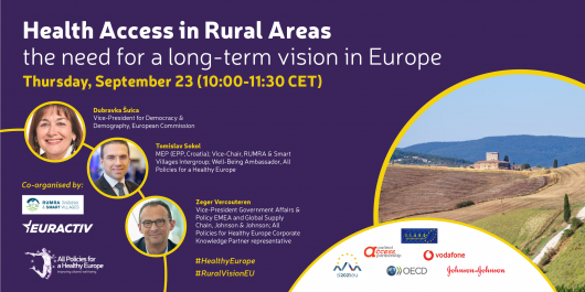 Media Partnership - Health Access in Rural Areas: the need for a long-term vision in Europe