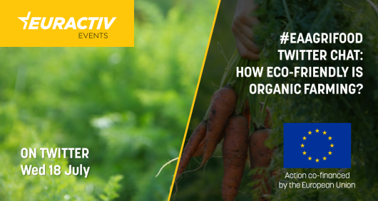 #EAAgriFood Twitter Chat: How eco-friendly is organic farming?