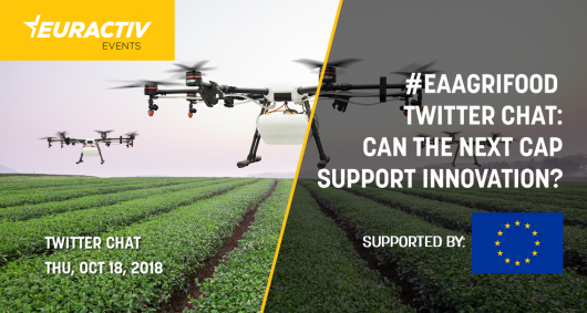 #eaAgriFood Twitter Chat: Can the next CAP support innovation?