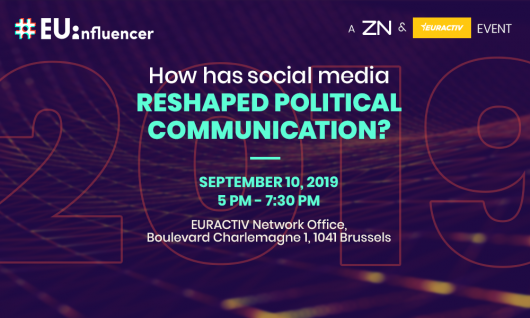 #EUinfluencer 2019: How has social media reshaped political communication?