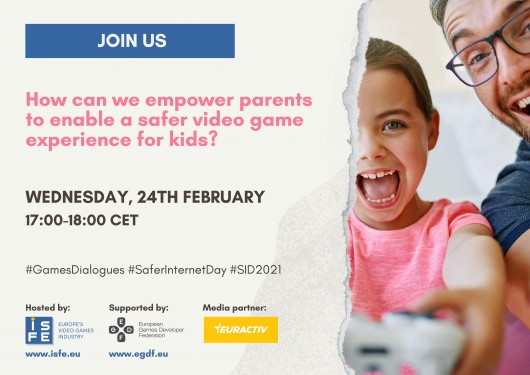 Media Partnership - How can we empower parents to enable a safer video game experience for kids?