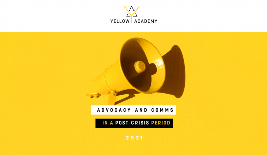 EURACTIV Yellow Academy - Advocacy and Comms in a post-crisis period